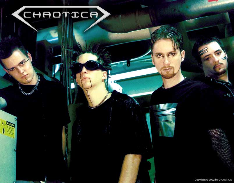 CHAOTICA (2002) (Left to Right: Johnny Evil, Gary Toth, Danny Chaotic, Jeff-X)