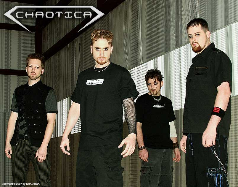 CHAOTICA (2007) (Left to Right: Gary Toth, Danny Chaotic, Ratprick, Jeff-X)