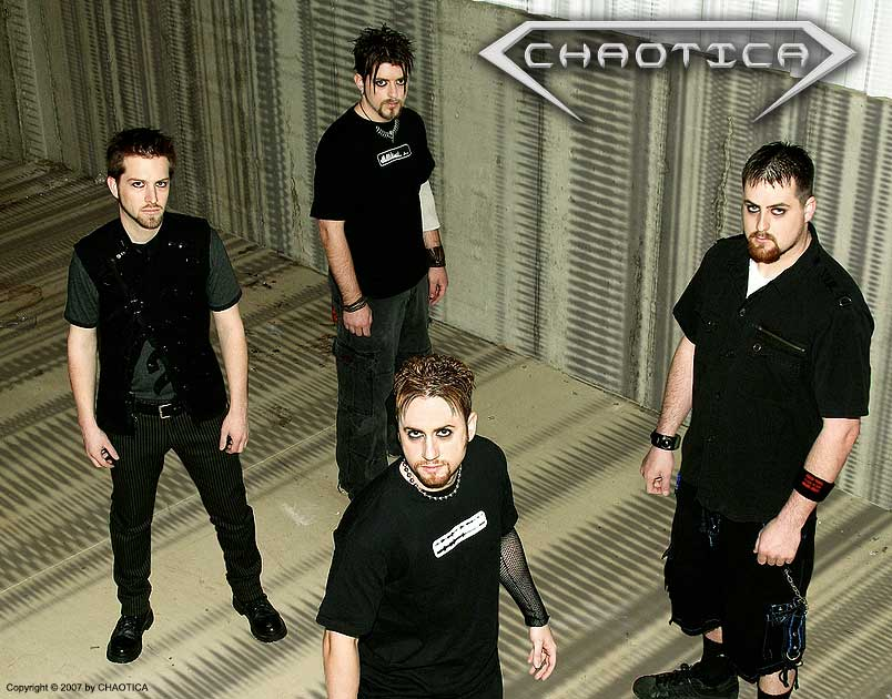CHAOTICA (2007) (Left to Right: Gary Toth, Ratprick, Danny Chaotic, Jeff-X)
