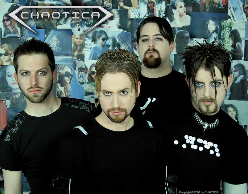 CHAOTICA (2008) (Left to Right: Gary Toth, Danny Chaotic, Jeff-X, Ratprick)