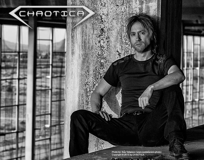 Danny Chaotic of CHAOTICA (2015) Photo by Sue Tatterson (www.spiritsoftheabandoned.com)
